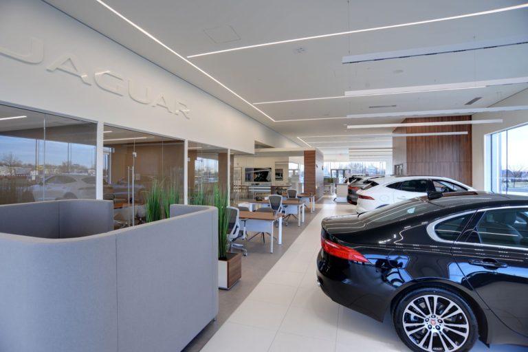 Jaguar Car Dealership Construction Photo 2